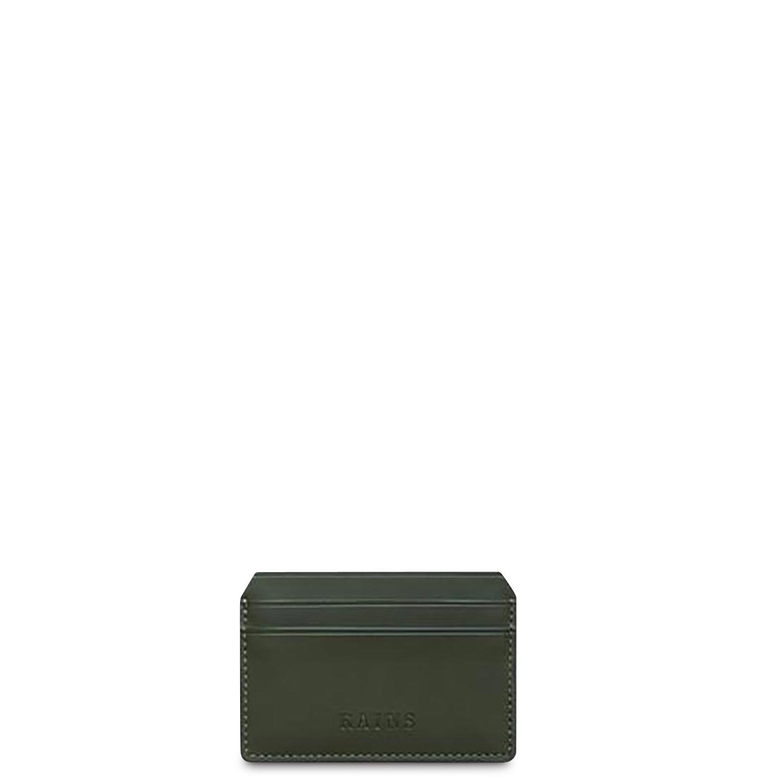 Rains Πορτοφόλια ανδρικά Rains Πράσινο Card Holder 1624