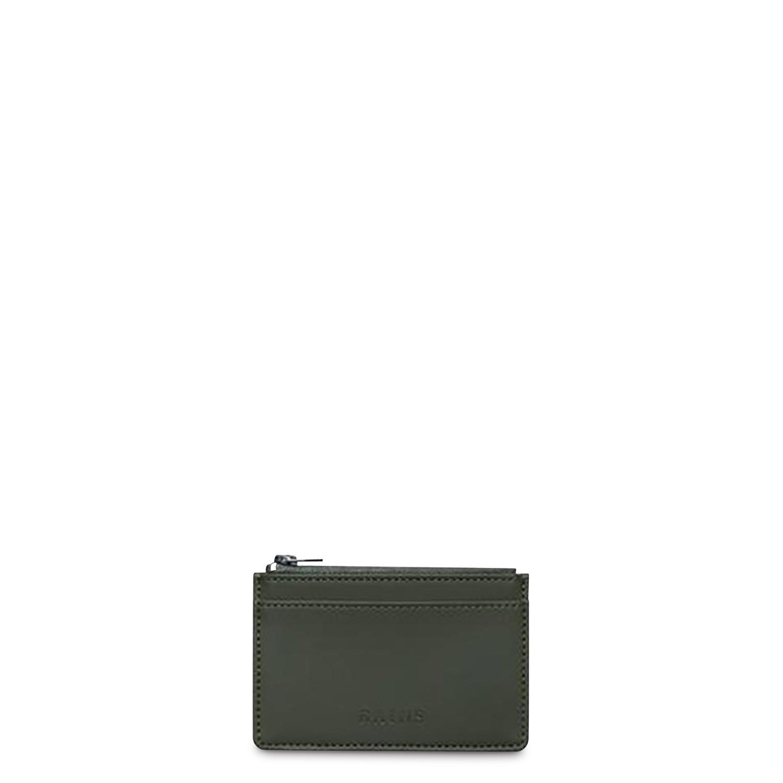 Rains Πορτοφόλια ανδρικά Rains Πράσινο Zip Wallet 1645