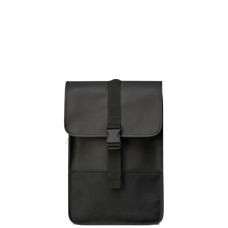 Σακίδια Πλάτης ανδρικά Rains Μαύρο Buckle Backpack Mini 1370