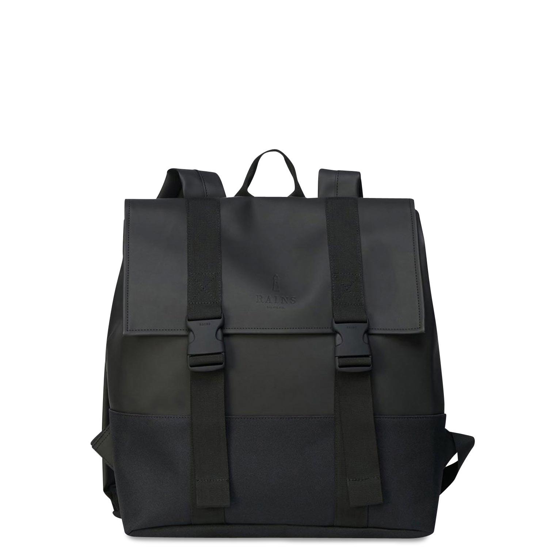 Σακίδια Πλάτης ανδρικά Rains Μαύρο Buckle Msn Bag 1371