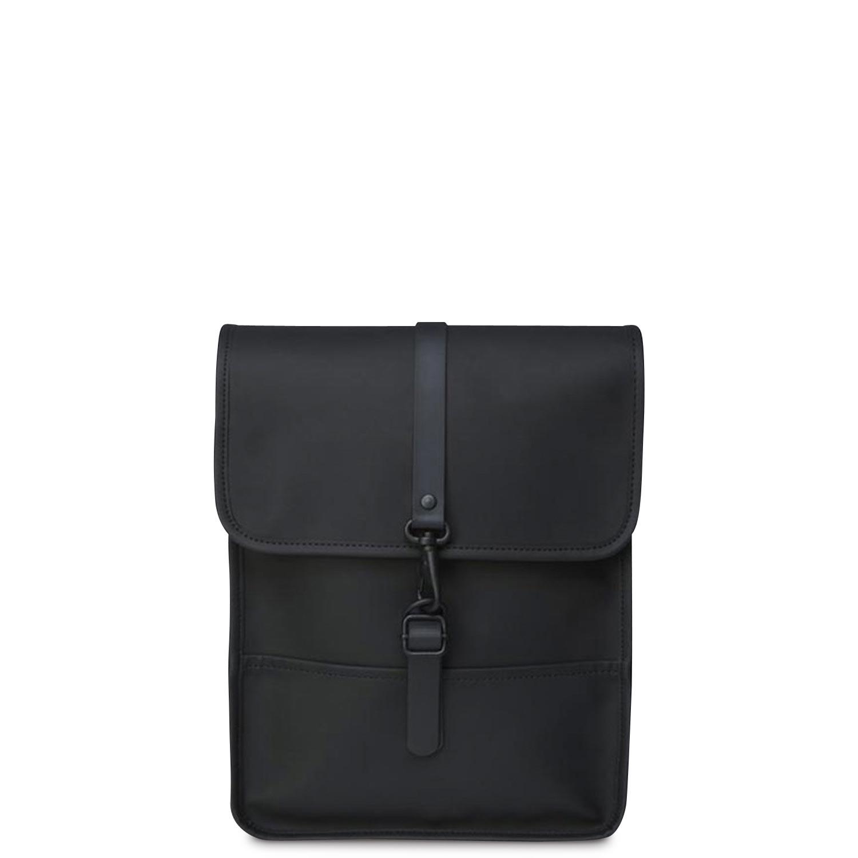 Σακίδια Πλάτης γυναικεία Rains Μαύρο Backpack Micro 1366