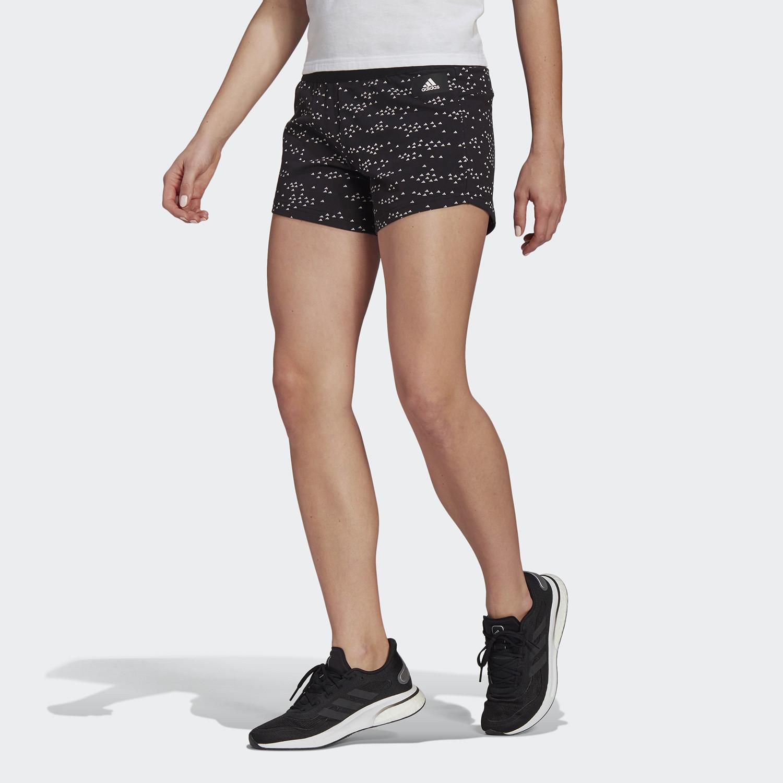 adidas Performance Γυναικείο Adidas Sportswear Badge Of Sport Allover-Printed Shorts (9000068388_1480)