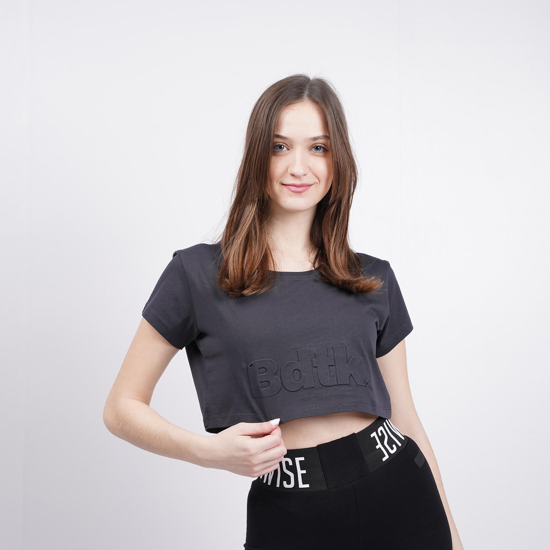 BODYTALK Snapsw Γυναικείο Copped T-shirt (9000073244_3027)