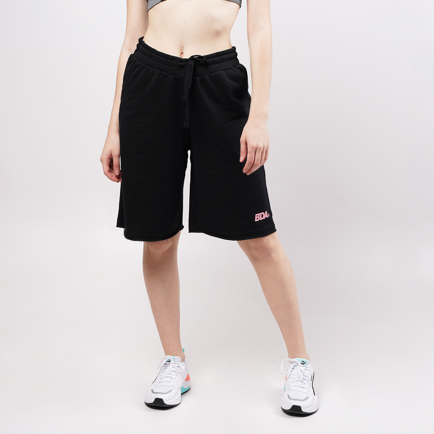 Body Action Women'S Loose Fit Bermuda Shorts (9000076687_1899)