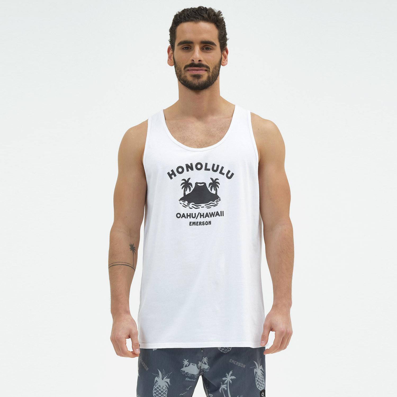 Emerson Ανδρική Αμάνικη Μπλούζα (9000070430_1539)