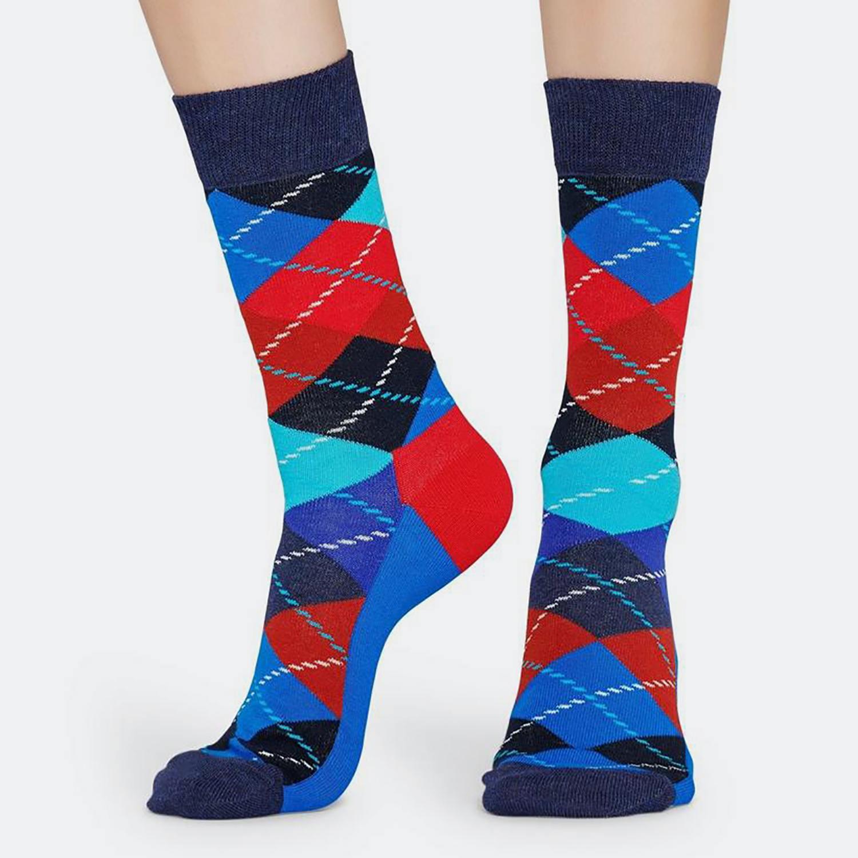 Happy Socks Argyle Sock – Ανδρικές Κάλτσες (9000031275_9688)