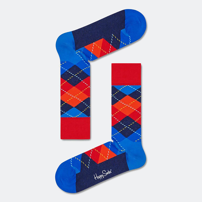 Happy Socks Argyle Unisex Κάλτσες (9000065874_2074)