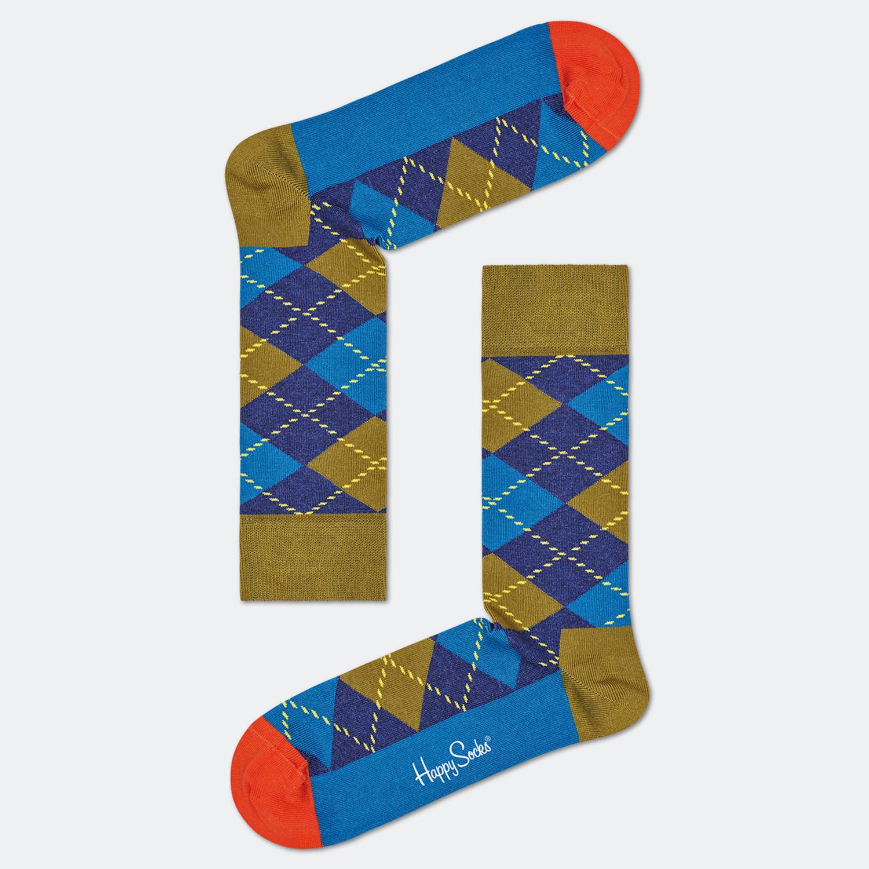 Happy Socks Argyle Unisex Κάλτσες (9000065875_2074)