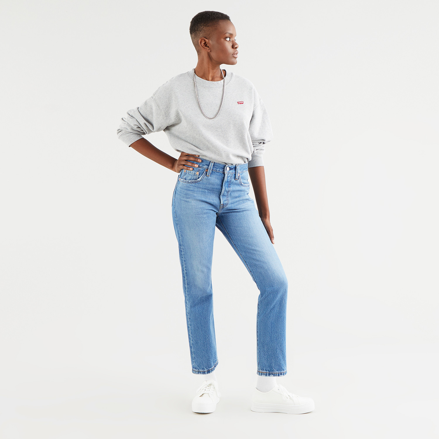 Levi's 501 Athens Day to Day Cropped Γυναικείο Τζιν (9000072203_26105)