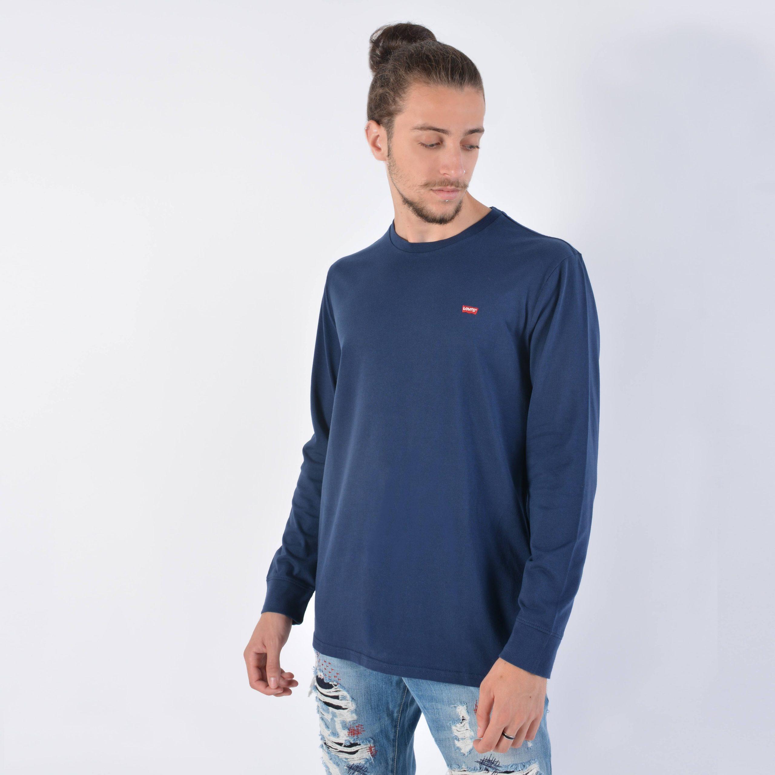 Levis Original Housemark Ανδρική Μπλούζα με Μακρύ Μανίκι (9000038266_26098)