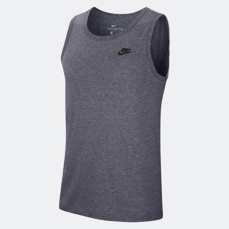 Nike Nike Sportswear Club Ανδρική Αμάνικη Μπλούζα (9000052379_6077)