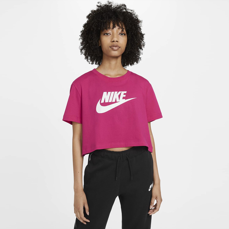 Nike Sportswear Essential Γυναικεία Crop Top Μπλούζα (9000069990_11307)