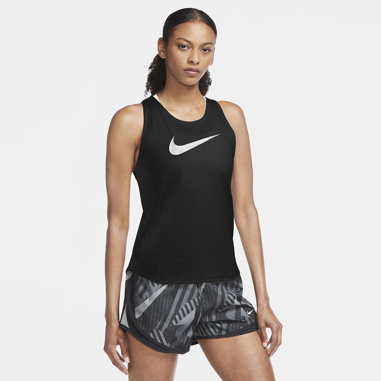 Nike Nike Swoosh Run Γυναικείο Μπλουζάκι Για Τρέξιμο (9000055124_46353)