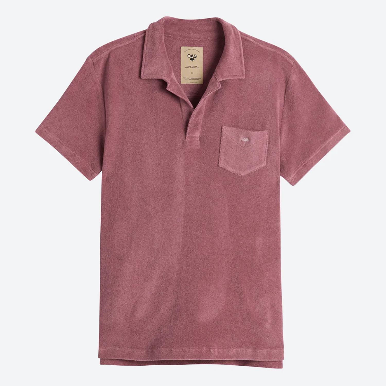 OAS Dusty Plum Ανδρικό Polo T-shirt (9000079958_6701)
