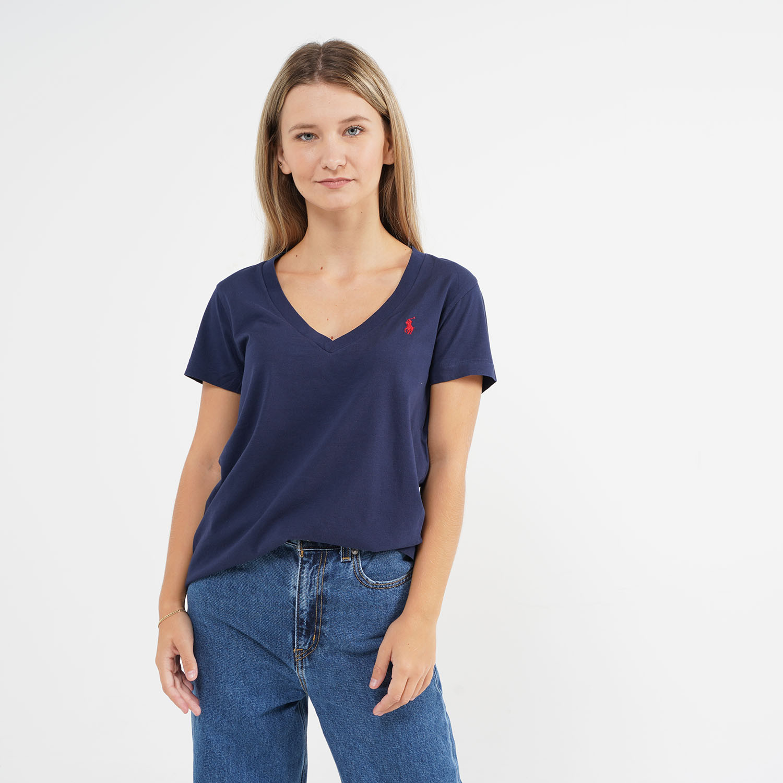 Polo Ralph Lauren Cotton Jersey Crewneck Γυναικεία Μπλούζα (9000064612_42083)