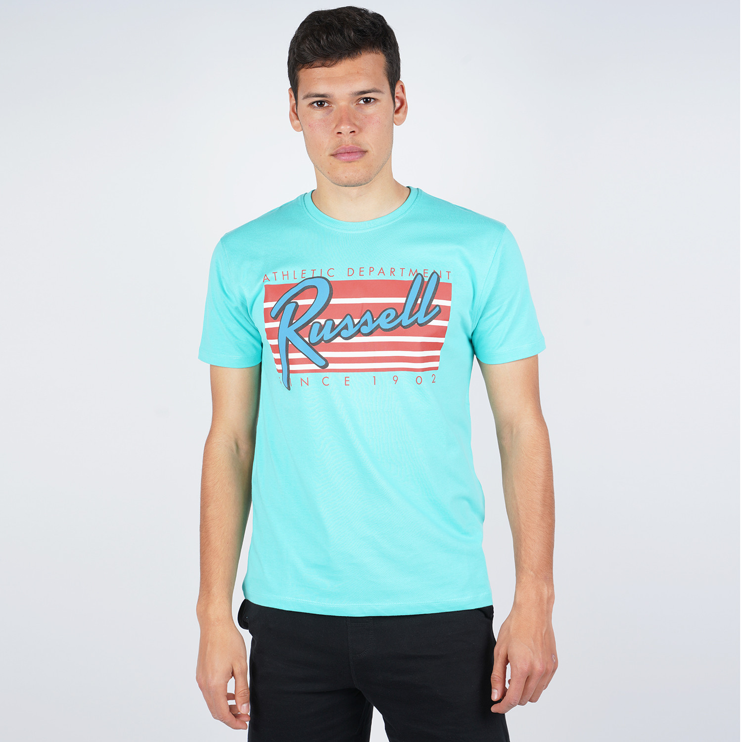 Russell Athletic Russell Athletic Miami Crewneck Men's T-Shirt (9000051619_2485)
