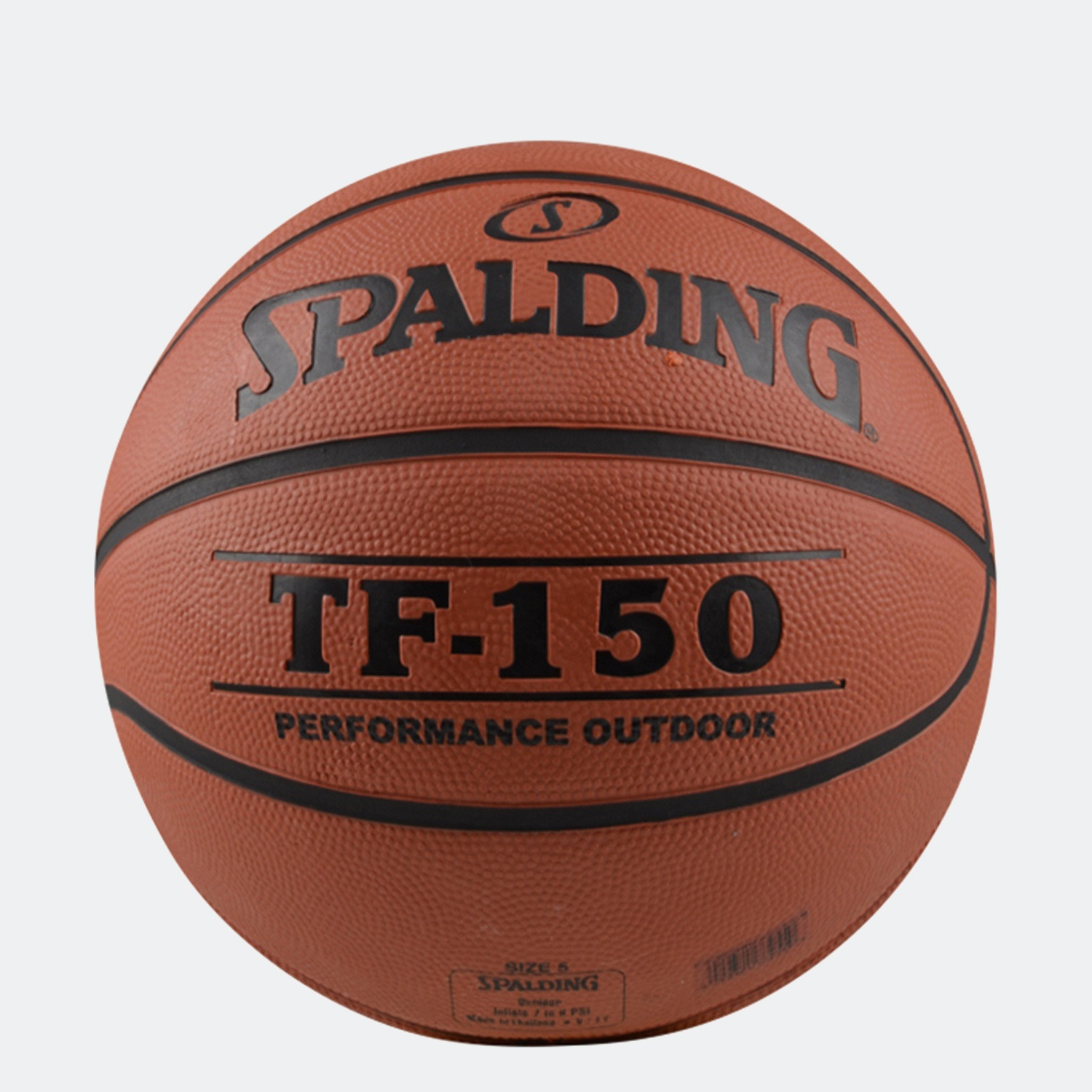 Spalding Tf-150 Performance Rubber Basketball (3024500066_005)