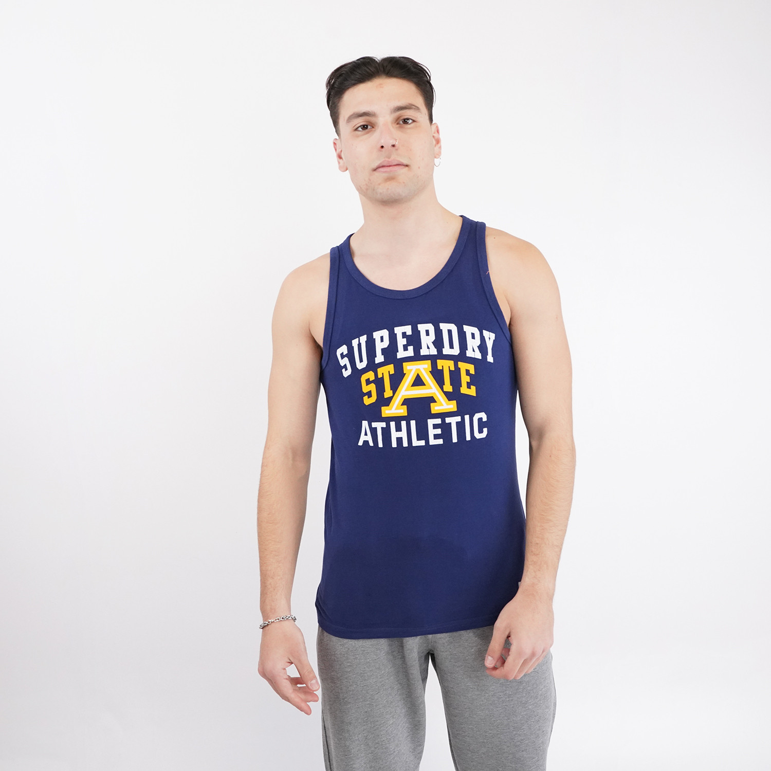 Superdry Superdry Track And Field Graphic Vest Ανδρικό Αμάνικο T-shirt (9000073870_51649)