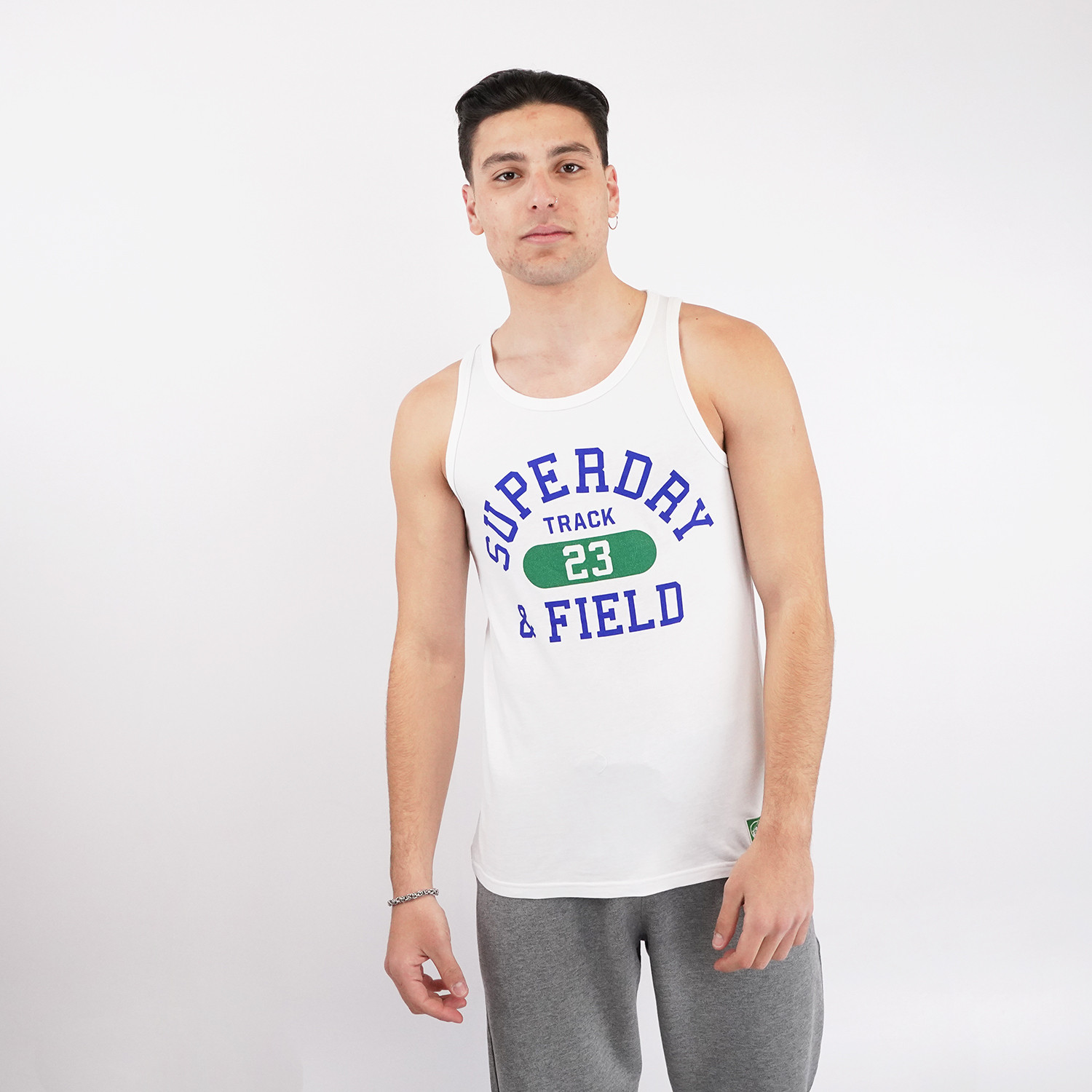 Superdry Superdry Track And Field Graphic Vest Ανδρικό Αμάνικο T-shirt (9000073872_48858)