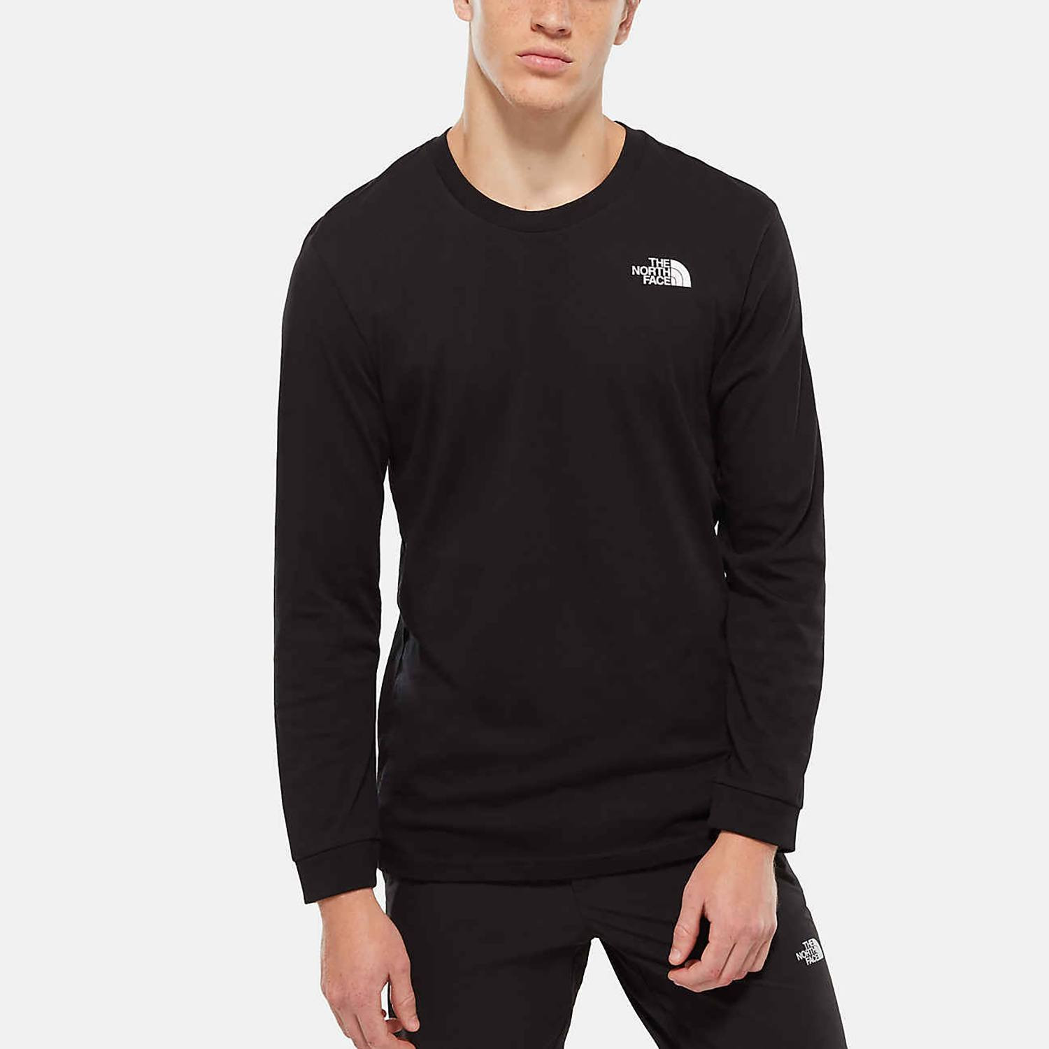 THE NORTH FACE Simple Dome Ανδρική Μπλούζα με Μακρύ Μανίκι (9000019774_4617)