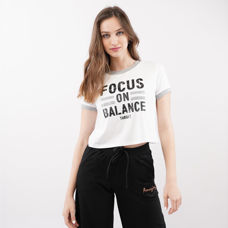 "Target ""Focus"" Γυναικείο Crop Top T-Shirt (9000079293_3198)"