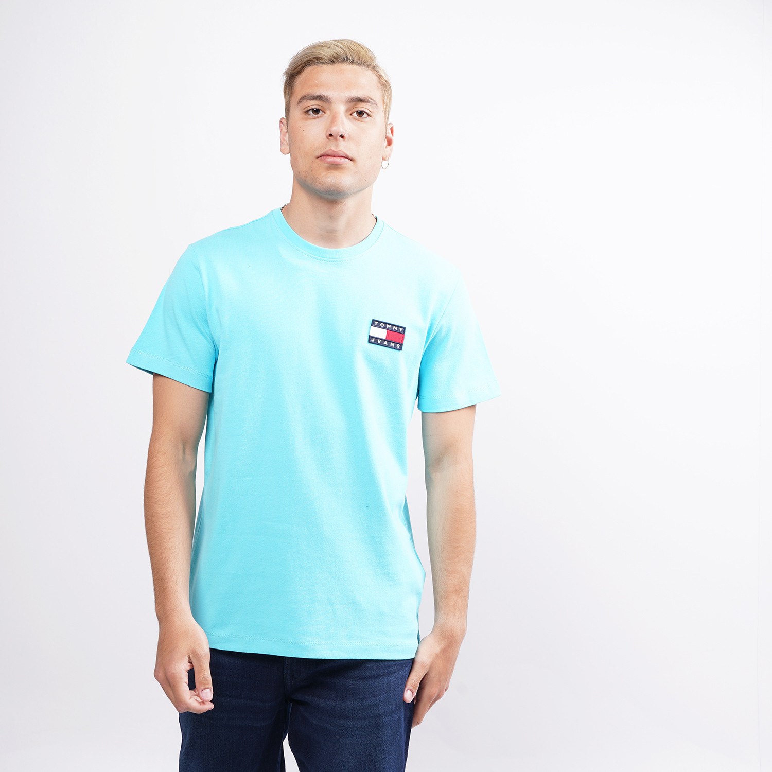 Tommy Jeans Badge Ανδρικό T-Shirt (9000074632_45074)