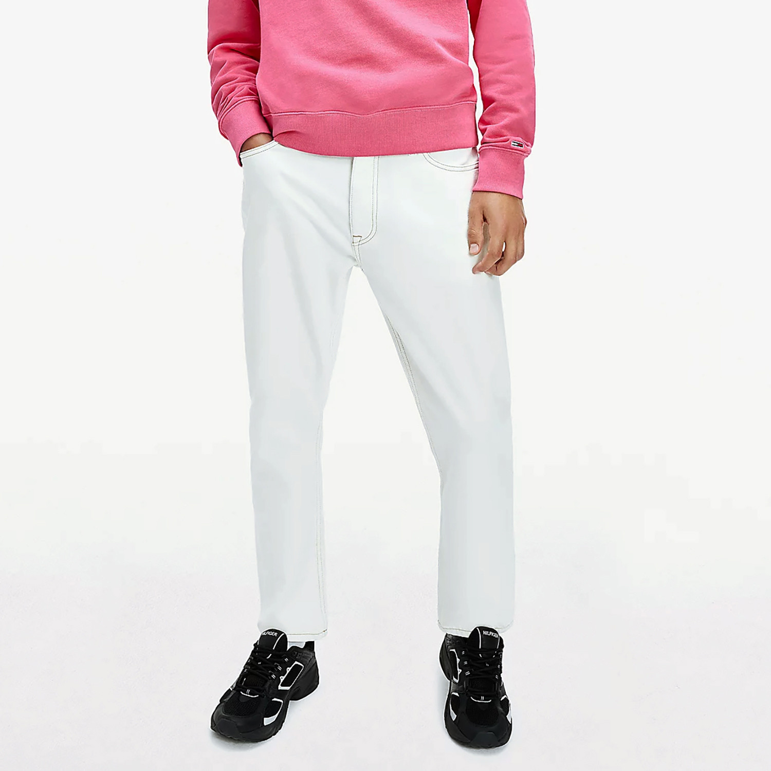Tommy Jeans Dad Tapered Ανδρικό Παντελόνι (Μήκος 34L) (9000074778_51879)
