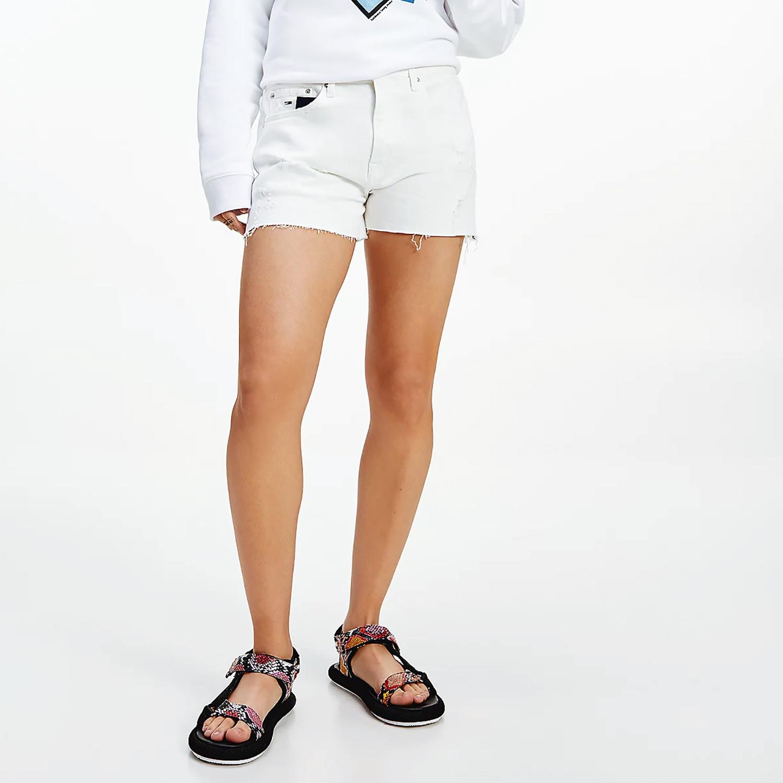 Tommy Jeans Raw Hem Denim Γυναικείο Σορτς (9000074847_51864)
