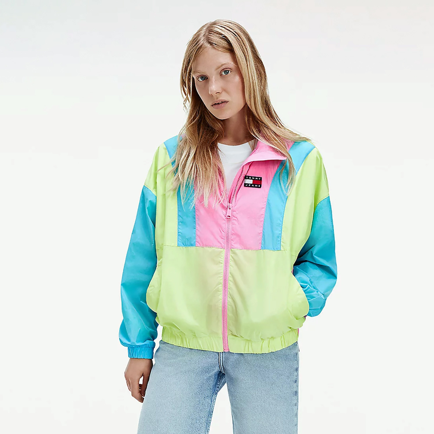 Tommy Jeans Tommy Jeans Tjw Colorblock Zip Through (9000074757_51883)