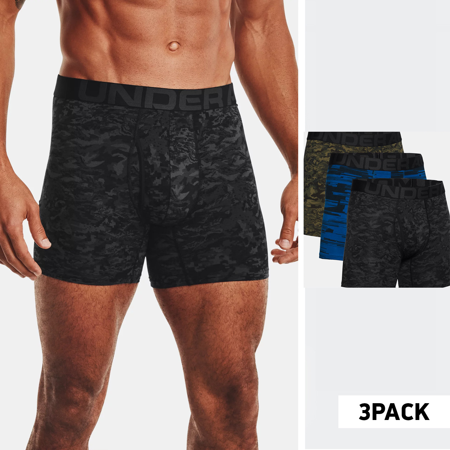 Under Armour 6In Novelty 3-Pack Ανδρικά Μπόξερ (9000070842_50865)