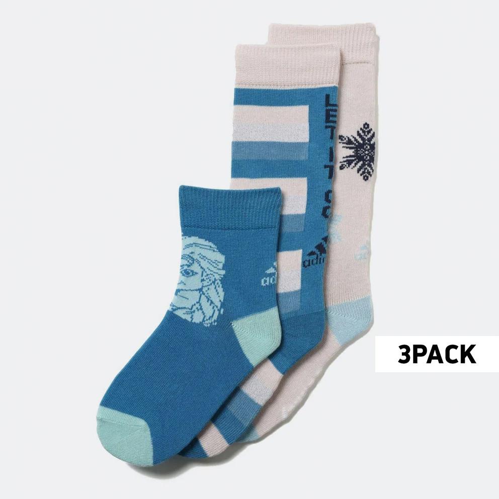 adidas Performance Disney Frozen 3-Pack Παιδικές Κάλτσες (3063830006_27992)
