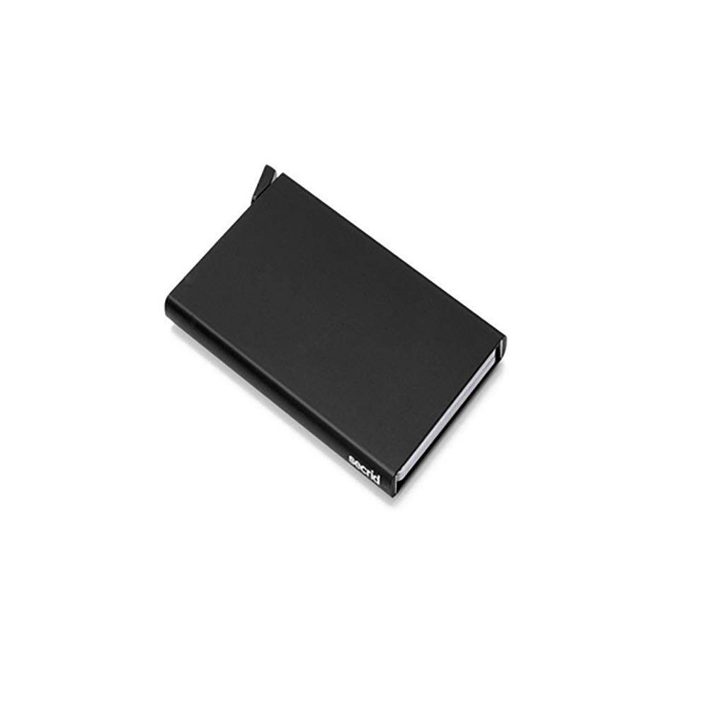 Πορτοφόλια ανδρικά Secrid Μαύρο Cardprotector