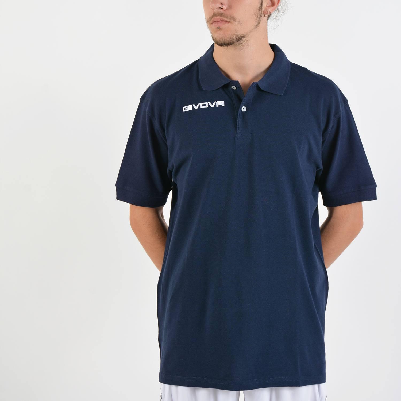 Givova Men's Polo T-Shirt – Ανδρική Polo Μπλούζα (9000020712_3024)