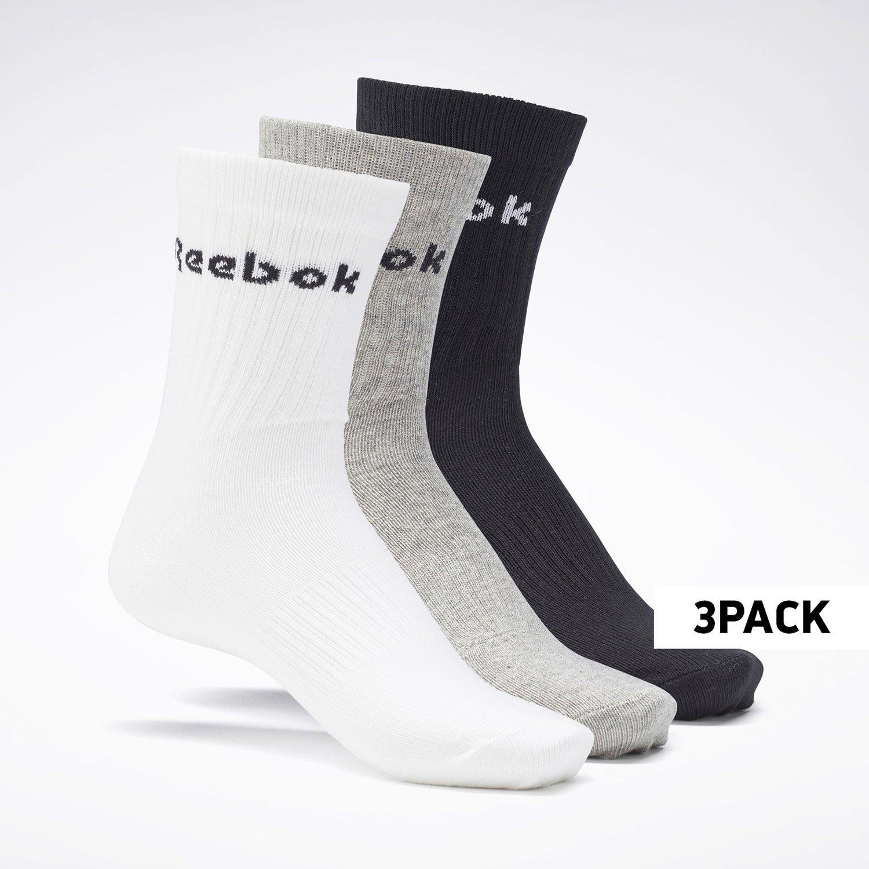Reebok Sport Active Core Crew 3Pack Unisex Κάλτσες (9000083564_17149)