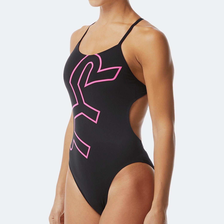 TYR Big Logo Γυναικείο Ολόσωμο Μαγιό Κολύμβησης (9000066222_3452)