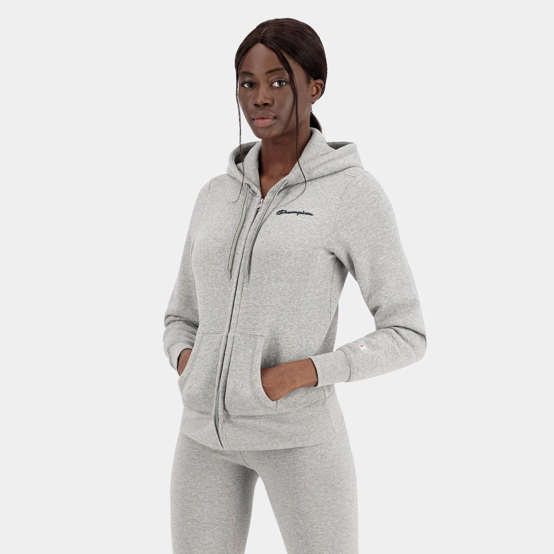 Champion Hooded Full Zip Sweatshirt (9000082537_29652)