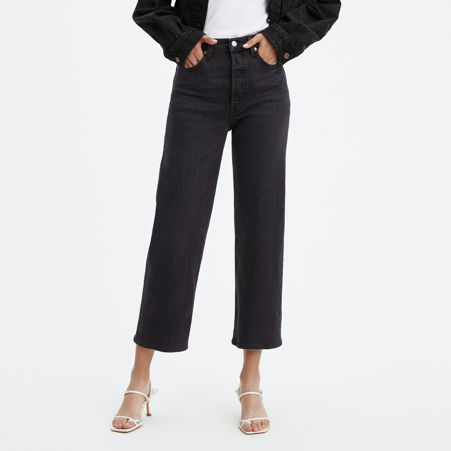 Levis Ribcage Straight Ankle Feelin Cagey (9000087149_26097)