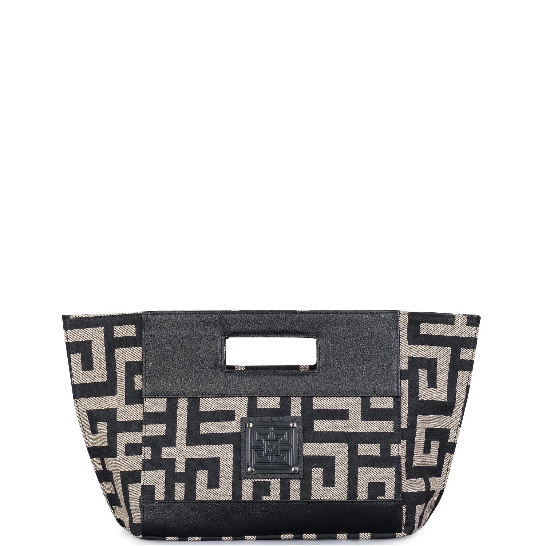 Shopping γυναικεία Ames Bags Μπεζ-Μαύρο Pyr Bag