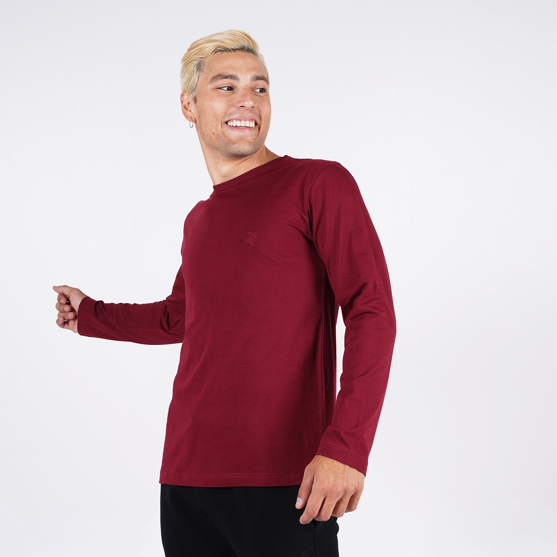 Target Classics Ανδρική Μπλούζα με Μακρυ Μανικι (9000087326_8968)