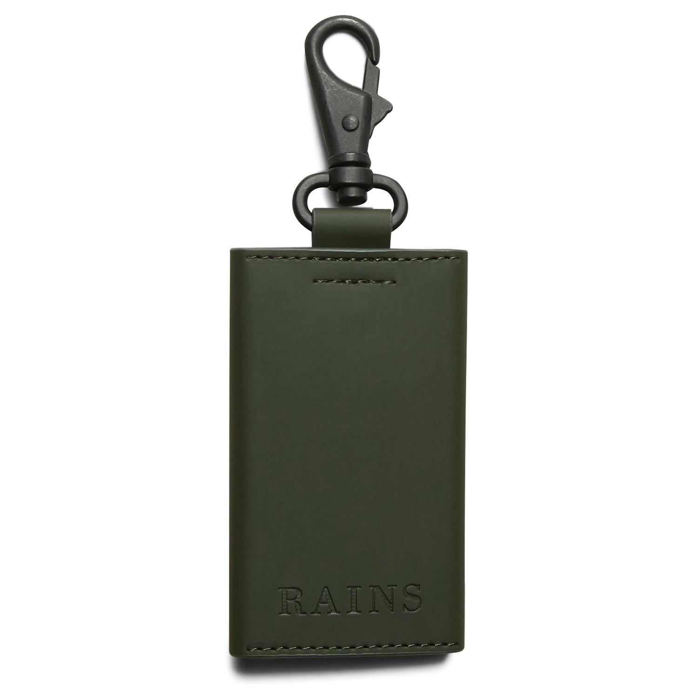 Πορτοφόλια ανδρικά Rains Πράσινο Key Holder