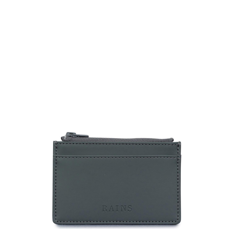 Πορτοφόλια ανδρικά Rains Slate Zip Wallet 1645