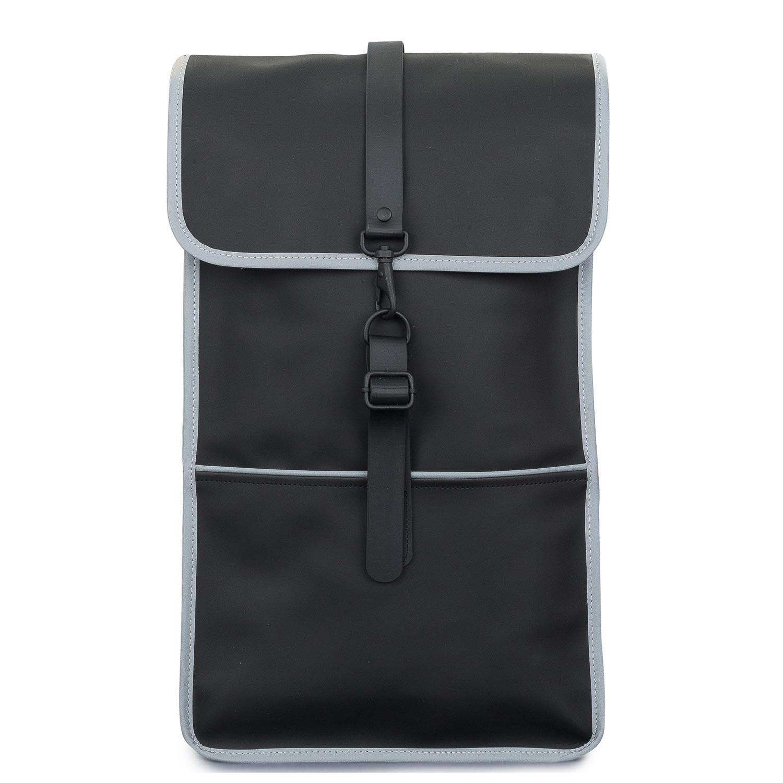 Σακίδια Πλάτης ανδρικά Rains Λευκό-Μαύρο Backpack 1220
