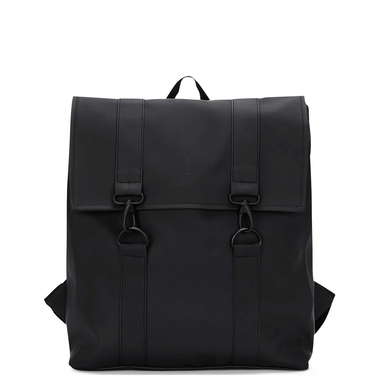 Σακίδια Πλάτης ανδρικά Rains Μαύρο Msn Bag