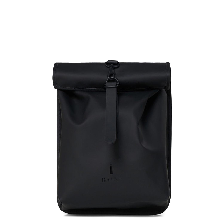 Σακίδια Πλάτης ανδρικά Rains Μαύρο Rolltop Mini