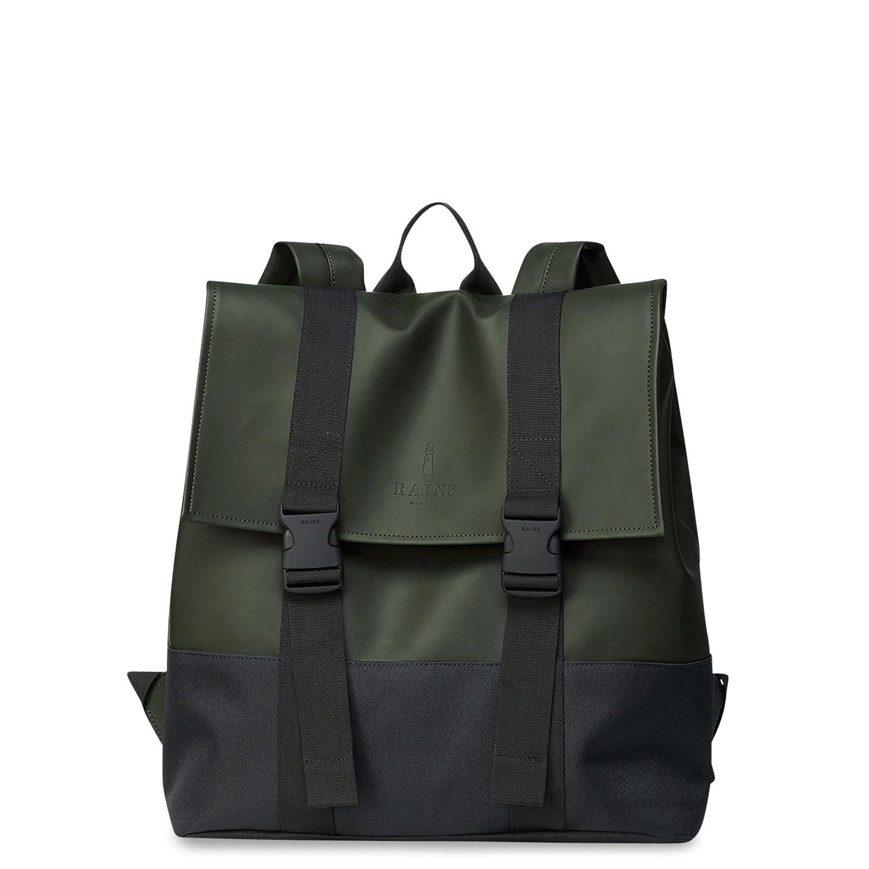 Σακίδια Πλάτης ανδρικά Rains Πράσινο Buckle Msn Bag 1371