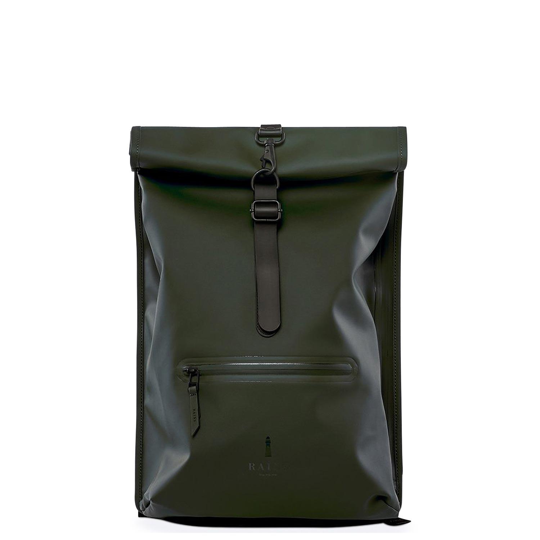 Σακίδια Πλάτης ανδρικά Rains Πράσινο Rolltop Rucksack