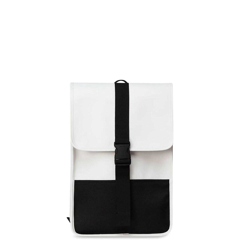 Σακίδια Πλάτης ανδρικά Rains Off White Buckle Backpack Mini 1370
