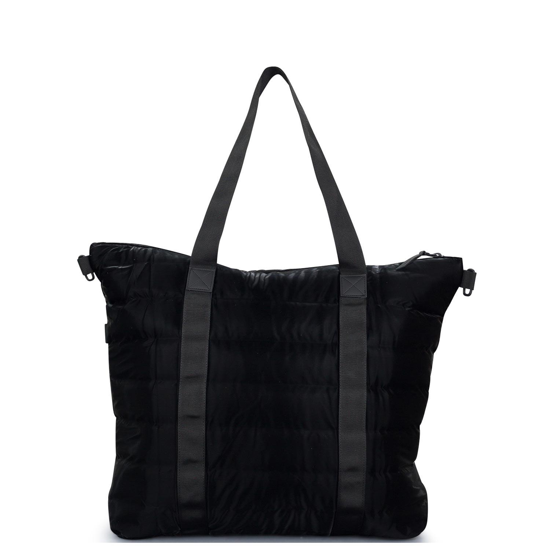 Χιαστί ανδρικά Rains Velvet Black Tote Bag Quilted