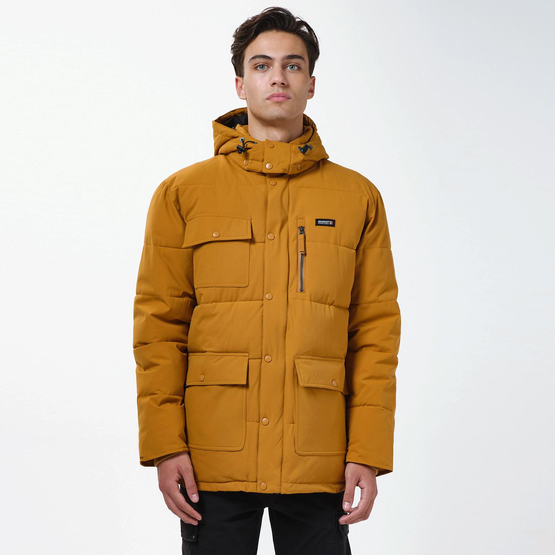 Basehit Men's P.P. Down Jacket with Det/ble Hood (9000090478_55861)