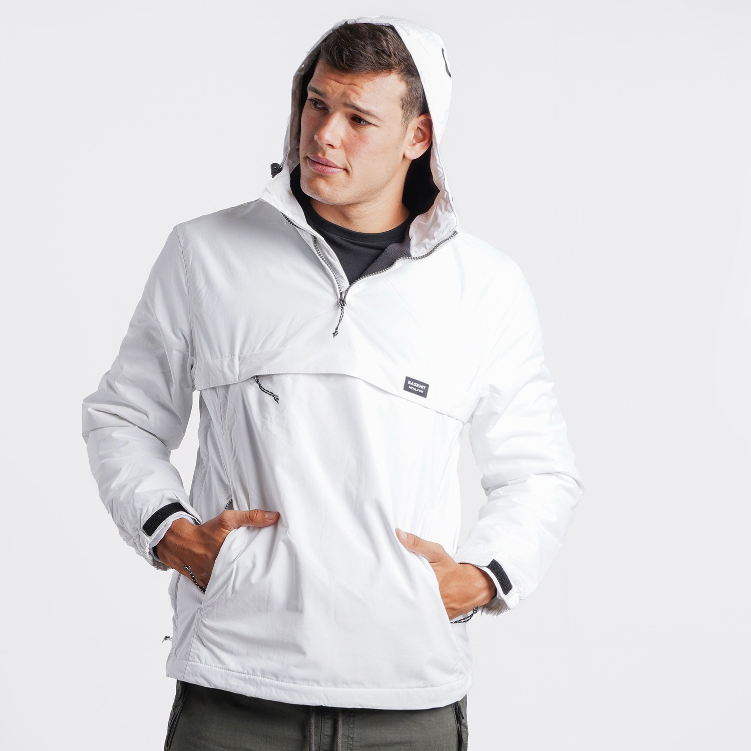 Basehit Men's Pullover Jacket with Hood (9000090495_55859)